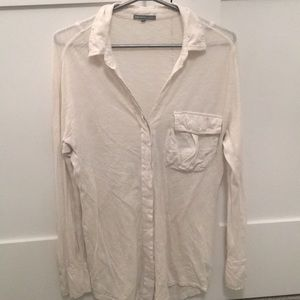 James Perse button down top *AS IS